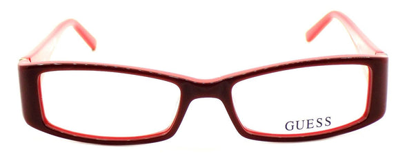 GUESS GU2537 066 Women's Plastic Eyeglasses Frames 51-16-135 Red + CASE