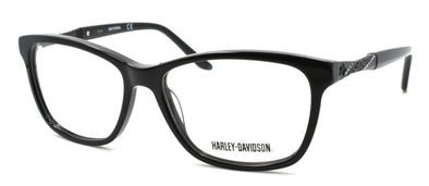 Harley Davidson HD0542 001 Women's Eyeglasses Frames 53-15-135 Black + CASE