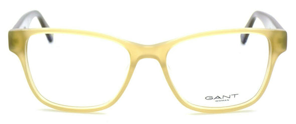 GANT GA4065 045 Women's Eyeglasses Frames 52-16-135 Shiny Light Brown + CASE