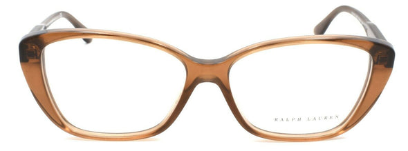 Ralph Lauren RL6116 5477 Women's Eyeglasses Frames 54-14-140 Brown Cognac