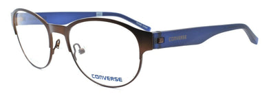 CONVERSE Q030 UF Women's Eyeglasses Frames 49-17-135 Brown / Blue + CASE