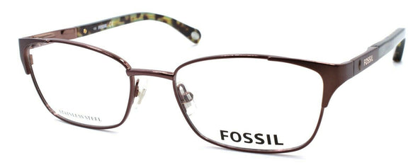 Fossil FOS 6048 0TY6 Women's Eyeglasses Frames 50-17-135 Brown
