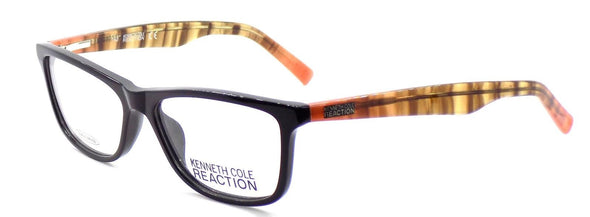 Kenneth Cole REACTION KC757 001 Women's Eyeglasses 54-15-140 Shiny Black + CASE