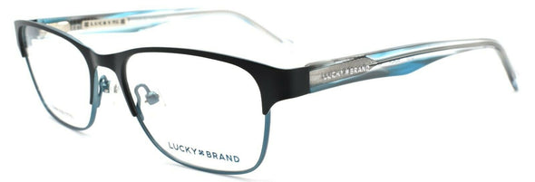 LUCKY BRAND D707 Eyeglasses Frames SMALL 49-15-130 Black + CASE