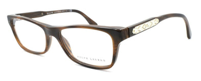 Ralph Lauren RL6115 5472 Women's Eyeglasses Frames 53-16-140 Brown Horn