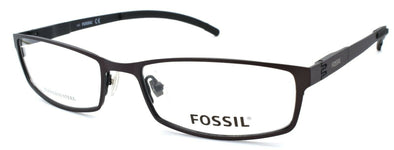 Fossil Felix 0JYL Men's Eyeglasses Frames 54-17-140 Ruthenium / Black