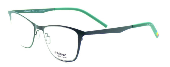 Polaroid PLD D503 B7S Women's Eyeglasses Frames Cat-eye 50-18-145 Green + CASE