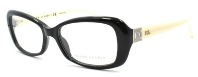 Ralph Lauren RL6105 5001 Women's Eyeglasses Frames 51-16-135 Black / Cream