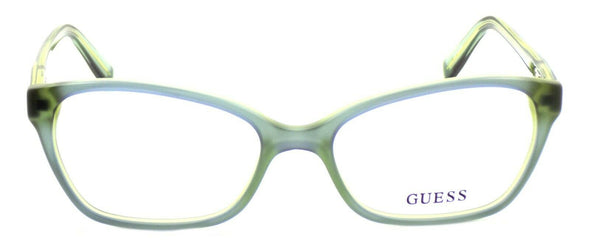 GUESS GU2466 BLGRN Women's Eyeglasses Frames 52-17-135 Blue / Green + CASE