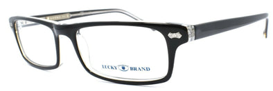 LUCKY BRAND Jacob Kids Boys Eyeglasses Frames 47-15-130 Black / Crystal + CASE