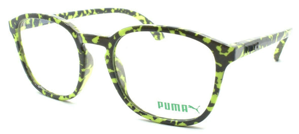 PUMA PU0080O 004 Men's Eyeglasses Frames 49-19-145 Gray / Green