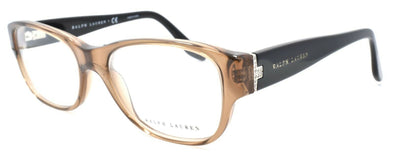 Ralph Lauren RL6126B 5217 Women's Eyeglasses Frames 53-18-140 Transparent Brown