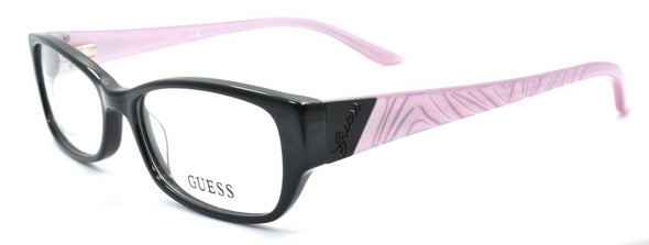 GUESS GU2305 BLK Women's Eyeglasses Frames 52-16-140 Black / Pink + CASE