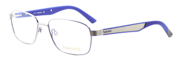 TIMBERLAND TB1347 015 Men's Eyeglasses Frames 55-17-140 Matte Light Ruthenium