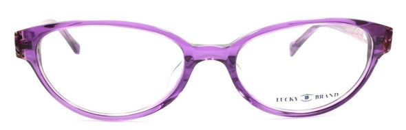 LUCKY BRAND Sunrise UF Women's Eyeglasses Frames 52-17-140 Purple + CASE