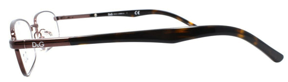 Dolce & Gabbana D&G 5062 152 Women's Eyeglasses 50-17-135 Brown