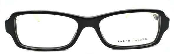 Ralph Lauren RL6107Q 5001 Women's Eyeglasses Frames 53-16-140 Black / Cream