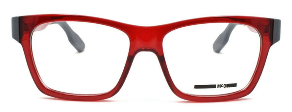 McQ Alexander McQueen MQ0015O 004 Women's Eyeglasses 52-16-140 Transparent Red