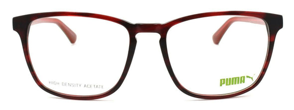 PUMA PU0077OA 003 Women's Eyeglasses Frames 56-18-145 Havana Red + CASE