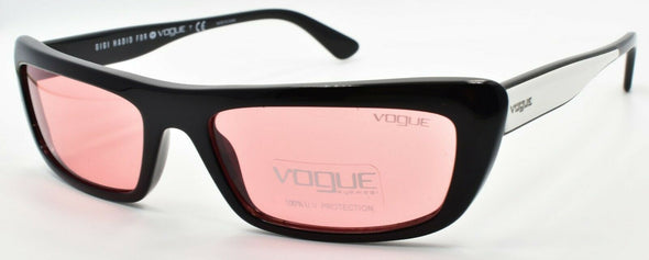 Vogue x Gigi Hadid VO5283S W44/84 Women's Sunglasses Black & White / Pink