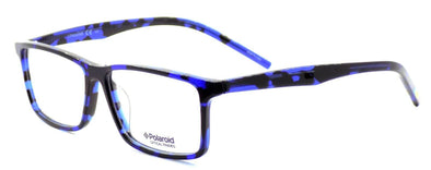 Polaroid PLD D302 VT0 Men's Eyeglasses Frames 54-14-145 Blue Havana + CASE