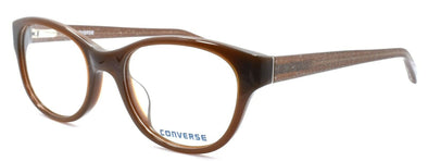 CONVERSE Q404 Women's Eyeglasses Frames 52-19-140 Brown w/ Glitter + CASE