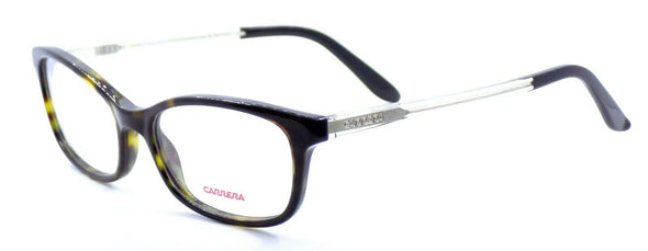 Carrera CA6647 QK8 Women's Eyeglasses Frames 52-17-140 Dark Havana + CASE