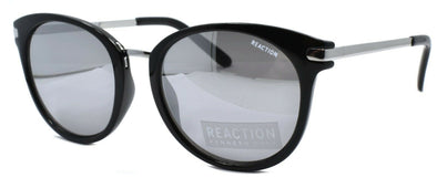 Kenneth Cole Reaction KC1309 01C Men's Sunglasses Black & Silver / Mirrored