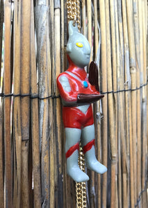 ultraman sofubi necklace