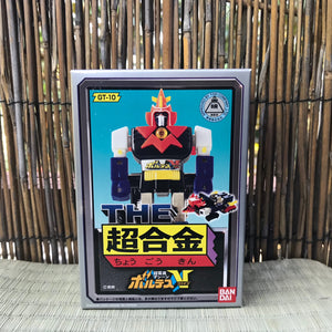 the superalloy Voltes V chogokin diecast