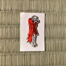 Load image into Gallery viewer, Vintage 80's Yokai sticker - noderabou the wild temple monk