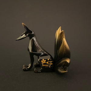 Nine tailed fox (black)