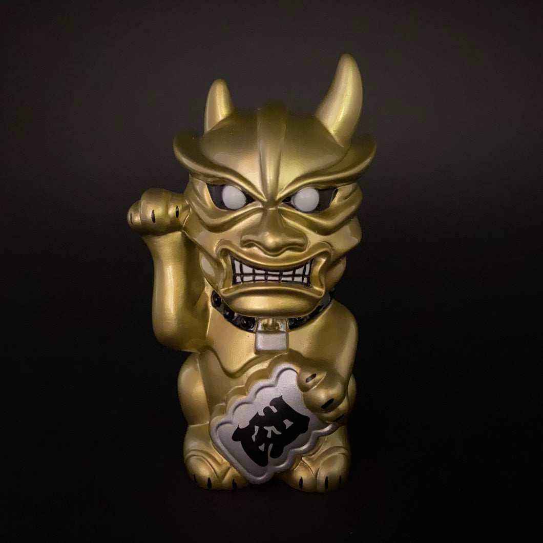 Maneki Oni (gold)