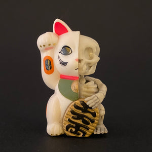 maneki neko skeleton