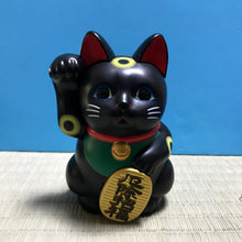 Load image into Gallery viewer, Maneki Neko (black)