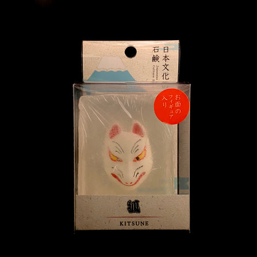 Noh mask bar soap (Kitsune)