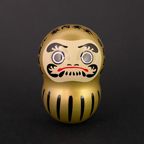 Wobbly daruma (gold)