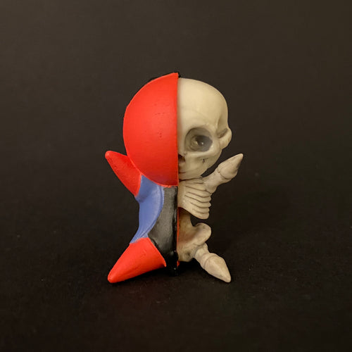bobo skeleton (red)