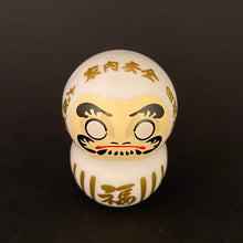 Load image into Gallery viewer, Wobbly daruma (white)