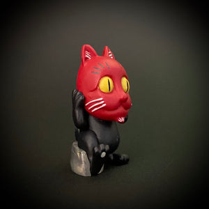 bakeneko cat with a mask (medium)