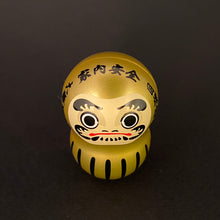 Load image into Gallery viewer, Wobbly daruma (gold)