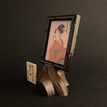 "Load image into Gallery viewer, ""Young woman blowing a glass pipe"" by utamaro"