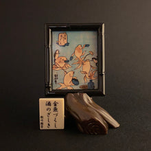 "Load image into Gallery viewer, ""a drinking bout"" from 'kingyo life' - kuniyoshi"