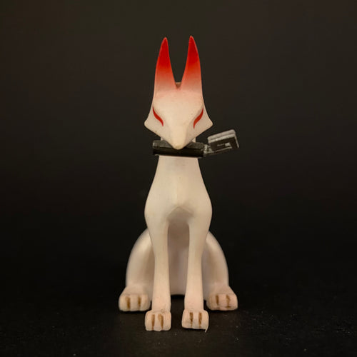 Inari kitsune (A fox with a key in its mouth)