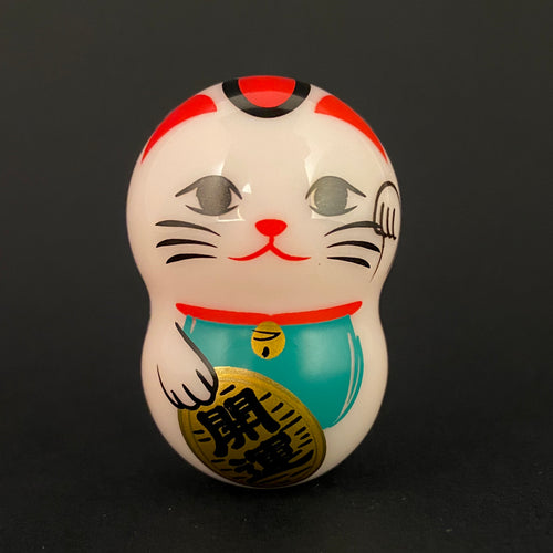 "Wobbly maneki Neko ""good luck"""