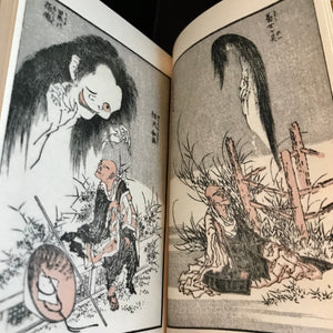 "Hokusai manga ""legends of 100 stories"" mini book"