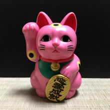 Load image into Gallery viewer, Maneki Neko (pink)