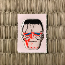 Load image into Gallery viewer, Vintage 80's Yokai sticker - Frankenstein's monster