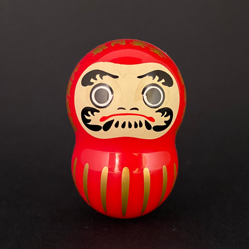 Wobbly daruma (red)