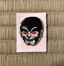 Load image into Gallery viewer, Vintage 80's Yokai sticker -oikamiotoko the werewolf